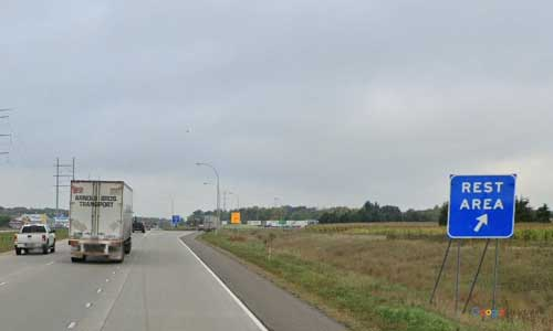 mn interstate 94 minnesota i94 fuller lake rest area mile marker 175 westbound off ramp exit