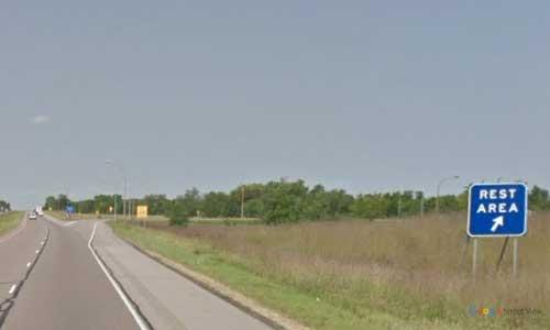 mn interstate 94-minnesota i94 middle spunk lake rest area mile marker 152 westbound off ramp exit