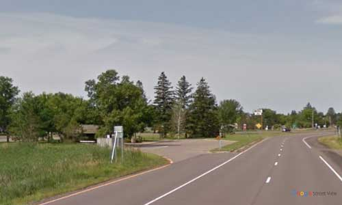 mn state route 210 minnesota mn210 mcgregor rest area westbound mile marker 173