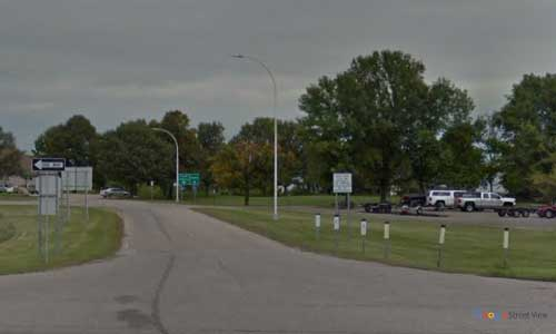 mn us route 2 minnesota us2 cass lake rest area mile marker 131 bidirectional entrance exit