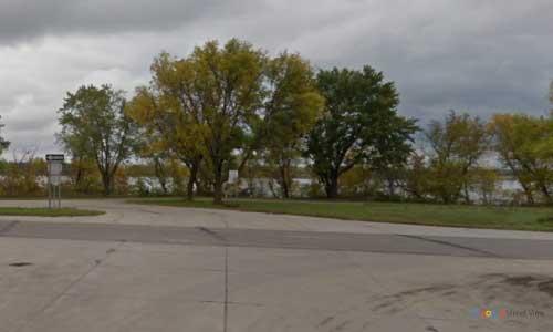 mn us route 2 minnesota us2 oak lake mile marker 59 bidirectional entrance eixt